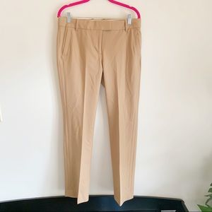 J. Crew Camel Tan Campbell Wool Trousers 8